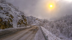 Prudence !!! (Co-jjack) Tags: route neige hivernale hiver froid hdrenfrancais