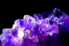 Amethyst (Photography and Craftmanship) Tags: amethyst quarz lilac crystal mineral makro color colour