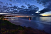Goodbye to 2016 (markwhitt) Tags: markwhitt markwhittphotography lajolla sandiego california californiacoast southerncalifornia usa pacificocean ocean sunset pier scrippspier christmaslights clouds dramatic coastline outdoors travel adventure landscape scenic