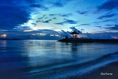 Om Santhi Santhi Santhi Om (Eka Purna Sumeika *PIC*) Tags: karangbeach sanur denpasar bali indonesia landscape sky waves morning silhouette