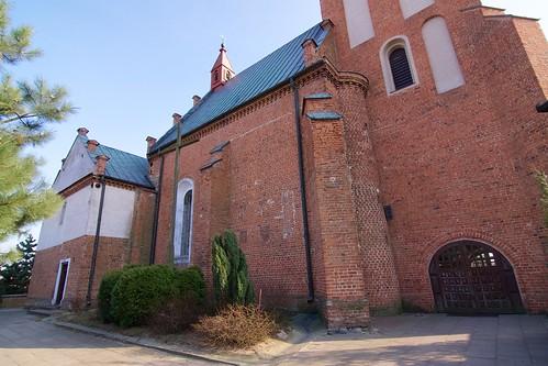 Kościół św. Jakuba Apostoła w Krzemienicy (1598) od północnego zachodu