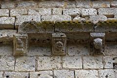 Modillons de l'église de Lialores - Condom - Gers (Vaxjo) Tags: midipyrénées languedocroussillon gers occitanie condom gascogne lialores église church
