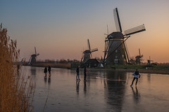 Kinderdijk (Pieter Mooij) Tags: kinderdijk zuidholland nederland nl ijspret natuurijs alblasserwaard schaatsers skaters iceskaters
