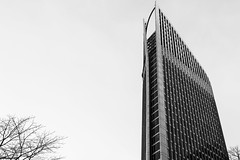 up to the sky (fhenkemeyer) Tags: thehague denhaag nl bw architecture
