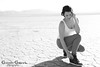 Josie Cee (Gonzalo Gatica Photography) Tags: gonzalogaticaphotography drylakebed canon5dmarkiv lasvegas vegas josiecee joannebowie inkmodel chicagomodel southafricangirl southafricanmodel nevada fashion bandw blackandwhitephotography fashionphotography