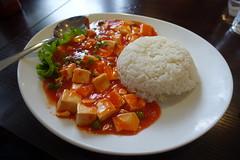 Mapo Tofu @ Rice & Noodle @ Montparnasse @ Paris (*_*) Tags: paris france europe city winter 2017 january montparnasse ricenoodle food restaurant asian chinese mapotofu spicy tomato rice tofu doufu