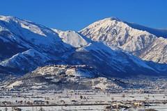 small town snowy (eudibi) Tags: teggiano vallodidiano sonyalpha sony ilce alpha mirrorless snowy snow white salerno campania italy