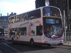 Lothian 828 SK07 CAO on 11 (sambuses) Tags: lothianbuses 828 sk07cao