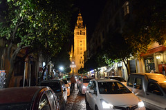 Night Scene - Sevilla (rschnaible) Tags: cathedral sevilla spain espana europe building architecture history historic sightseeing tour tourist outdoor nightphotography longexposure
