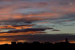 Sunset (Rubén Gil) Tags: sunset atardecer canon canon6d catalunya catalonia cataluña canon24105mm barcelona bcn building city cielo sky skyline
