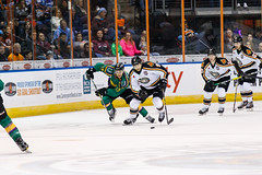 "Missouri Mavericks vs. Quad City Mallards, January 21, 2017, Silverstein Eye Centers Arena, Independence, Missouri.  Photo: John Howe / Howe Creative Photography • <a style=""font-size:0.8em;"" href=""http://www.flickr.com/photos/134016632@N02/32527847165/"" target=""_blank"">View on Flickr</a>"