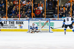 "Missouri Mavericks vs. Wichita Thunder, February 3, 2017, Silverstein Eye Centers Arena, Independence, Missouri.  Photo: John Howe / Howe Creative Photography • <a style=""font-size:0.8em;"" href=""http://www.flickr.com/photos/134016632@N02/32713947855/"" target=""_blank"">View on Flickr</a>"