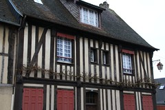 Timbered house (Tomek Mrugalski) Tags: house france timbered