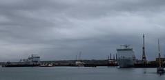 Falmouth Docks and 2 RFA vessels (gillsfanjohn) Tags: rfa falmouth
