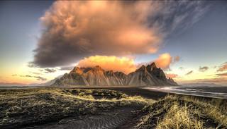Dawn Light in Iceland