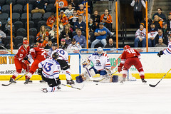 "Missouri Mavericks vs. Allen Americans, March 3, 2017, Silverstein Eye Centers Arena, Independence, Missouri.  Photo: John Howe / Howe Creative Photography • <a style=""font-size:0.8em;"" href=""http://www.flickr.com/photos/134016632@N02/33117919902/"" target=""_blank"">View on Flickr</a>"
