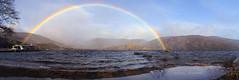 Lago de Sanabria (Batide Machado) Tags: lagodesanabria sanabria lago lake arcoiris raimbow sun clouds lluvia rain raining mountain montaña sierradelaculebra españa castillayleón spain water ngc