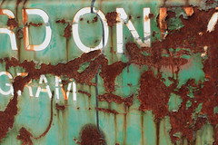 Rusty dumpster (annapolis_rose) Tags: rust flickrfriday noedit dumpster ubc campus