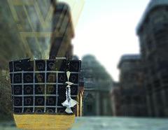 Calligraphy; Odia alphabets tote bag (Invogue vari UK) Tags: calligraphy ikat handwoven goldengrass tote bag odisha
