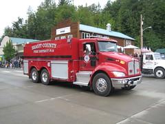 Kenworth Fire Truck in Concrete's Parade (Hugo-90) Tags: county rescue truck concrete fire washington parade vehicles skagit emergency kenworth cascadedays