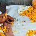 Flower Vendor's Hands, Borsad India