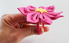 Pretty and Easy DIY Fabric Flower Hair Accessory (srivard72) Tags: girls diy sewing crafts howto parlor tutorial hairaccessory ponytailholder fabricflower parlordiarycom