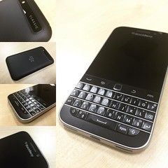 Blackberry Classic: Say what you will, blackberry still makes really good hardware. Nothing beats banging out text quickly on a real, tactile keyboard. Angry emails, long love notes, blog bull crap... Looks solid too. Pity about the apps. (That's why this