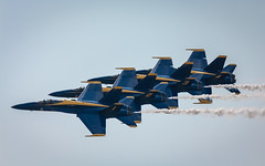 4 in Formation (jhoff1257) Tags: midwest aircraft military jets airplanes flight navy airshow kansascity missouri planes marines kc blueangels usnavy kcmo stunts fatalbert usmarines usmilitary fighterjets kansascitymissouri usnavyblueangels downtownairport kansascityairshow kcairshow 2015kcairshow