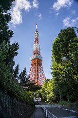 Japón 088 Tokyo - Tokyo Tower 2 (Photogra Fer) Tags: japan tokyo arquitectura torre monumento tokyotower nippon hdr tokio japón