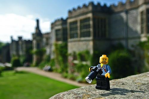 Haddon Hall Lego Selfie