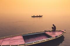 Ganges. Varanasi, India (Marji Lang Photography) Tags: travel light india color composition boats boat indian documentary atmosphere varanasi hindu oldtown kashi oldcity pilgrim ganga ganges ghats banaras pilgrims benares ambiance holycity uttarpradesh travelphotography republicofindia ef247028l indiansubcontinent godaulia gowdolia canoneos5dmarkii gaudolia travelanddocumentaryphotography roamingboat marjilang oldvaranasi