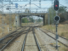 P9122398 (jon_zuniga1) Tags: railway via trainstation semaforo estacion signal agujas seales seal ferrocarril semaforos vias apeadero ffcc sealizacion sealizacionferroviaria