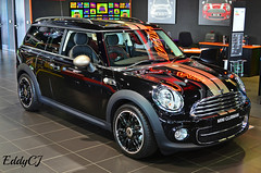 Mini Clubman Bond Street Edition (Eddy CJ) Tags: street uk b england black classic car one this is model nikon europe european with mini special future bond vehicle segment british collectible coventry related photographed edition seen clubman 2014 subcompact 2013 worldcars d5100