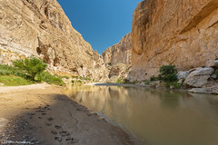 Footprints in the Sand - Boquillas Canyon, Texas