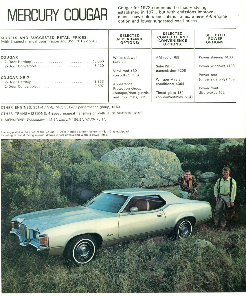 The Worlds Best Photos Of Brochure And Mercury Flickr Hive Mind 2000 Cougar Owners Manual 1972 Hardtop Coconv Tags Pictures Auto Door Old 2 Classic Cars