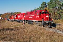 8794 (ontario photo connection) Tags: railroad autumn ontario canada fall train transport railway rails locomotive locomotives bowmanville canadianpacificrailway burketon havelocksub