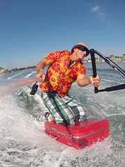 On the Case (WaterHound) Tags: sports funny tourist spray creativecommons boating waterskiing suitcase powerboat waterski freephotos