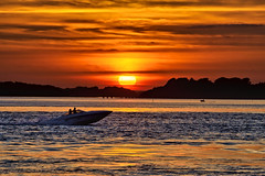 Sunset Seeker (paulinuk99999 (lback to photography at last!)) Tags: ferry bay boat harbour explore bournemouth poole bramble paulinuk99999 sal70400g sandbands sunseeeker