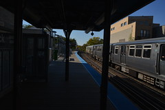 Sedgwick El (crowbert) Tags: chicago station train cta publictransit theel thel openhousechicago2015 ohc2015