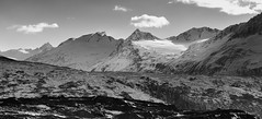 Chugach Mountains, Alaska (gene.mcgill95) Tags: winter blackandwhite mountain snow alaska glacier wilderness chugach chugachmountains thompsonpass
