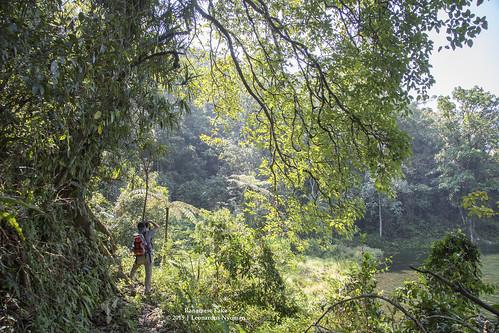 Trekking around Ranamese lake