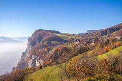 Les Dioux - St Hilaire du Touvet - France (Benjamin Boukagne (PRS of GGI)) Tags: france mountains alps fall forest montagne automne chartreuse du foret belledonne isre sainthilaire rhnealpes touvet dioux