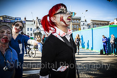 Bristol zombie walk 2015 (Redorbital Rob) Tags: bear uk west film halloween bristol walking dead living scary blood october zombie walk south centre culture fake pit parade brains horror movies annual zombies popular 31st shoppers fright frightening 2015 redorbital