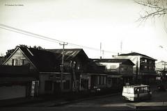 Osorno vintage (Conserva tus Colores) Tags: chile street blackandwhite vintage retro perspectiva osorno surdechile duotono conservatuscolores