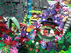 IMG_6863 (LUG Festibriques) Tags: montagne dragon lego exposition fantasy hotdogs jeu caverne fantastique auxerre 2015 scoubidou festibriques