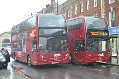 Go South Coast Salisbury Reds 1576 HW63FGV & 1577 HW63FGX (Will Swain) Tags: county uk travel november england bus buses coast britain south go transport east southern vehicles vehicle salisbury wiltshire reds seen 7th 1576 2015 1577 hw63fgv hw63fgx