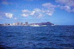 Waikiki Offshore View 1967 -1 (Kamaaina56) Tags: hawaii waikiki slide 1960s