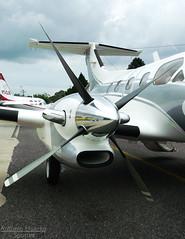 Four Blade Propeller (Antnio A. Huergo de Carvalho) Tags: airplane aircraft aviation xingu blade avio propeller aviao xing embraer p ps hlice emb121 aviaoexecutiva aviaogeral fourbladepropeller xinguii ptmbb