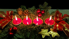 2015-12-20 17 (Josef17) Tags: advent rest gesteck 4kerzen