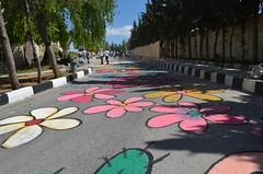 DSC_8951 (Al Ahliyya Amman University) Tags: street flowers students colors painting colorful university pretty time weekend president amman happiness jo jordan characters aau joyful       ccbysa  ahliyya          balqa      alsaro